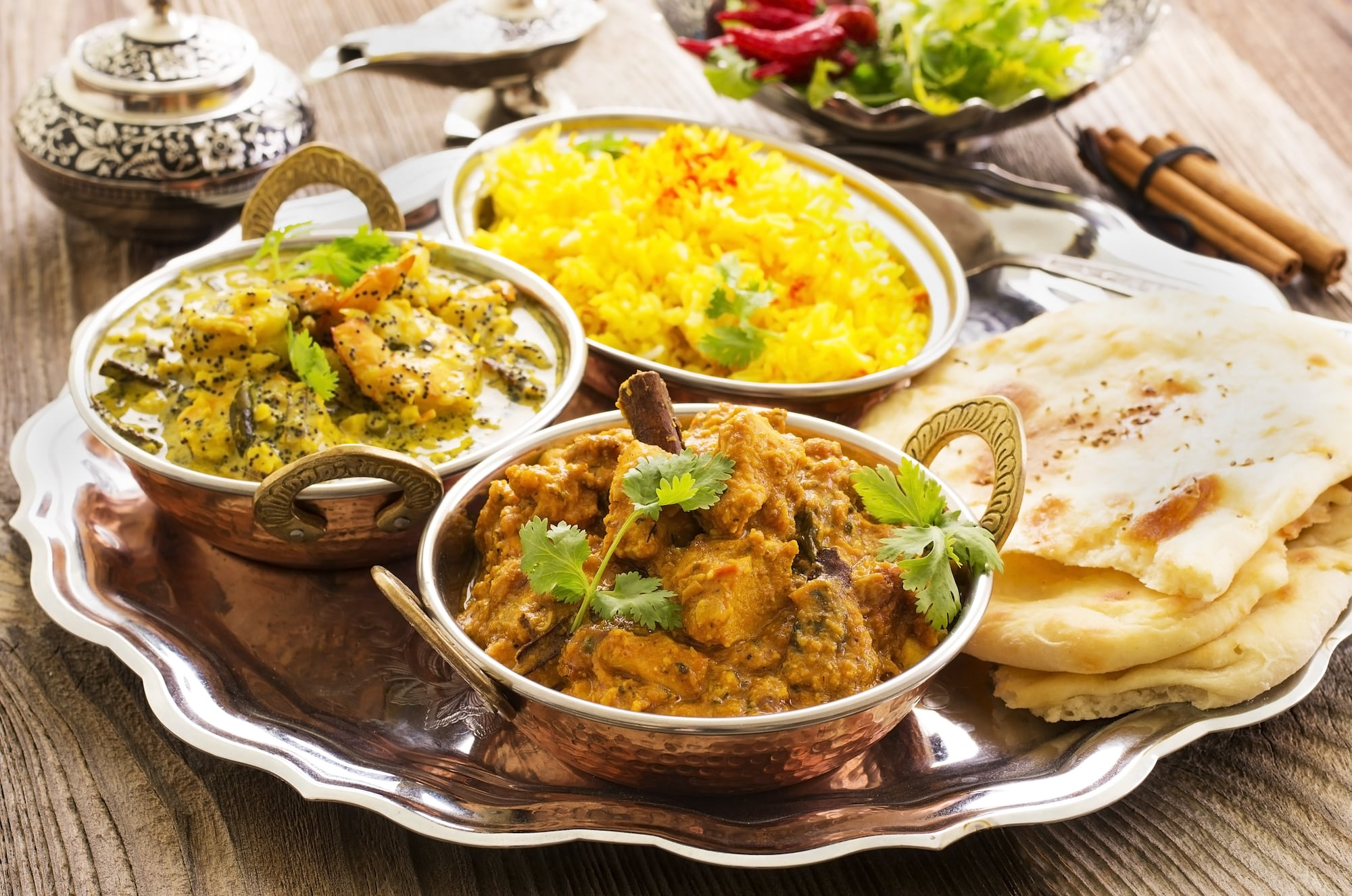 Indian Takeaway Home Delivered to Edgeworth